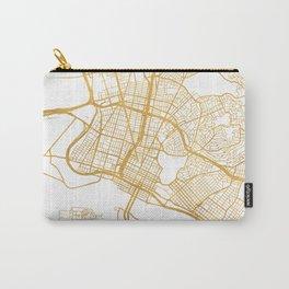OAKLAND CALIFORNIA CITY STREET MAP ART Carry-All Pouch