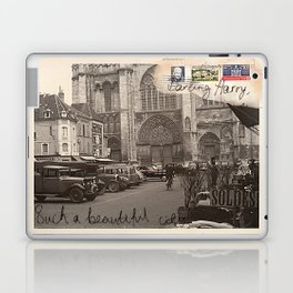 Beautiful city Laptop & iPad Skin