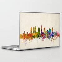atlanta Laptop & iPad Skins featuring Atlanta Georgia Skyline by artPause