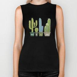 Don't Be A Prick Cactus Biker Tank