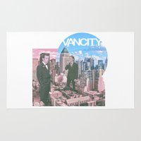 gangster Area & Throw Rugs featuring Vancity Summer Gangster by Adrian Engelhardt