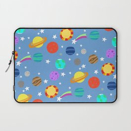 planets and stars Laptop Sleeve