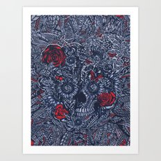 Sensory Overload Americana  Art Print