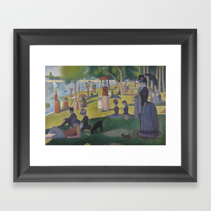 A Sunday Afternoon On The Island Of La Grande Jatte (High