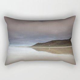 Rhossili bay Gower Rectangular Pillow