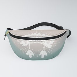 Your Vibe Attracts Your Tribe - Smoky Mountains Fanny Pack