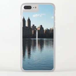 Central Park, NYC Clear iPhone Case