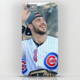Kris Bryant - Chicago World Champion iPhone Case