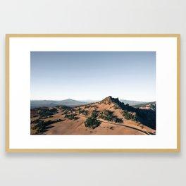 The Drive Framed Art Print