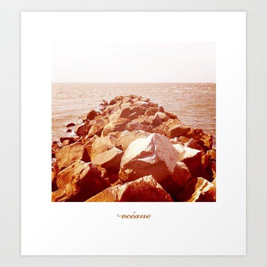 océano 4 Art Print