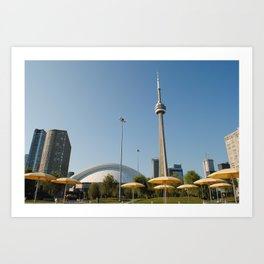 CN Tower Art Print