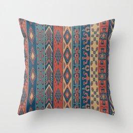 Navajo Geometric Pattern Throw Pillow