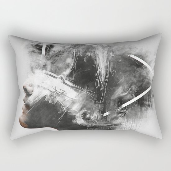 Nefretete Rectangular Pillow