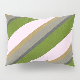 Pink Roses in Anzures 5  Stripes 3D Pillow Sham