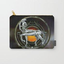 """Astrological Mechanism - Sagittarius"" Carry-All Pouch"