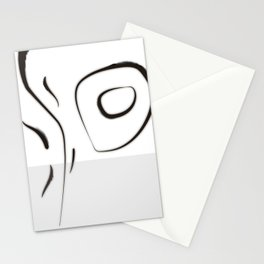 """Tribute to the China Millennium Poem """" Jian Jia"""" (a kind of reeds) No.1(whirl) Stationery Cards"""