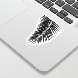 Palm Leaf Black & White I Sticker