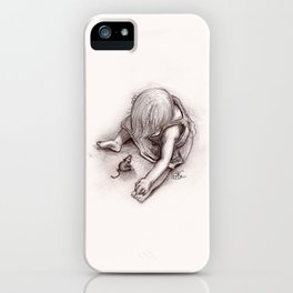 Ruby and the Rat iPhone Case