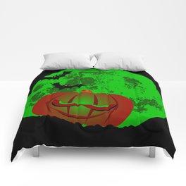 Full Halloween Moon Comforters
