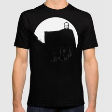 Nothing Escapes Me, No One Escapes Me SMALL Black Mens Fitted Tee