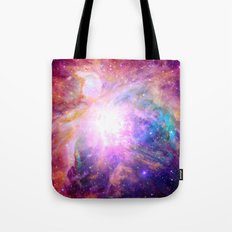 Galaxy Nebula Tote Bag
