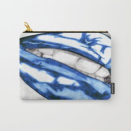 Hot Lips Blue Carry-All Pouch