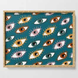 Eyes Limited Palette Pattern Serving Tray