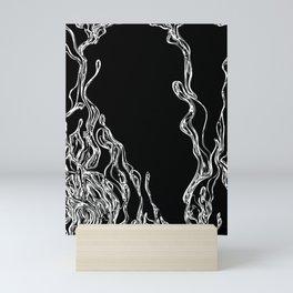 Dripping Swirls Mini Art Print