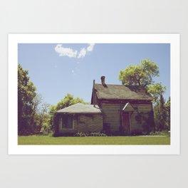 Old Home Art Print