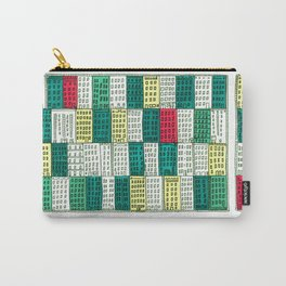 New York Streetscape (lucky green) Carry-All Pouch