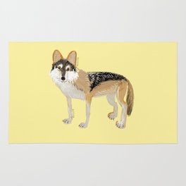 Mexican Wolf (Canis lupus baileyi) (TOPOS) Rug