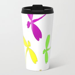 Dragonflies in the Spring Travel Mug