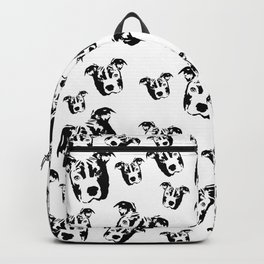 CHRISTMAS GIFTS FOR THE PIT BULL DOG LOVER FROM MONOFACES  Backpack