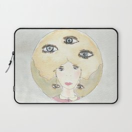 See thoughts with different eyes Laptop Sleeve