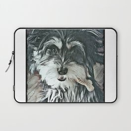 Puppy Rescue Sophie with Bone Laptop Sleeve