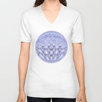 nordic V-neck T-shirts featuring Nordic Winter by gretzky