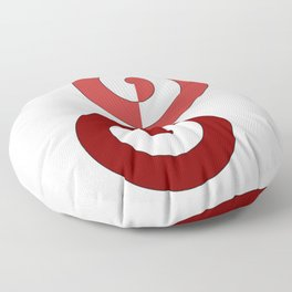 Start and end Floor Pillow