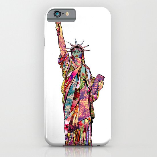 the french gift: statue of liberty iPhone & iPod Case