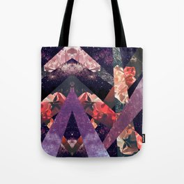 ROSES IN THE GALAXY Tote Bag