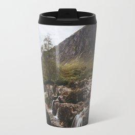 Famous Etive Mor - Landscape and Nature Photography Travel Mug