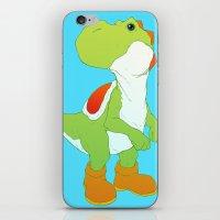 yoshi iPhone & iPod Skins featuring Yoshi by bloozen