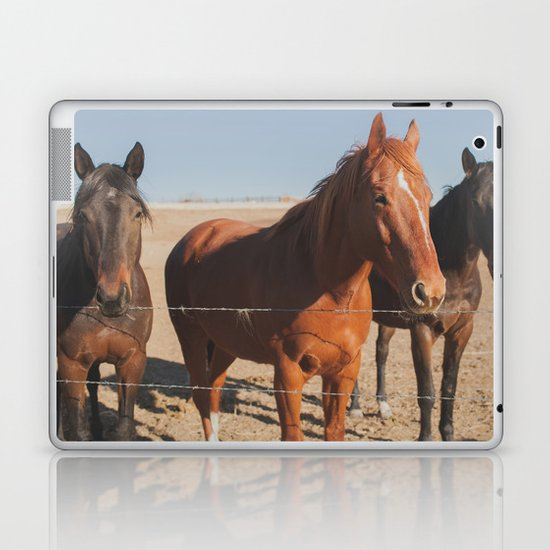 HORSES! Laptop & iPad Skin
