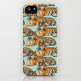 Tame like a Tiger iPhone Case