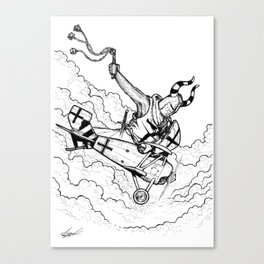 Teuton 2 Canvas Print