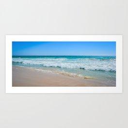 Beach Panorama Art Print