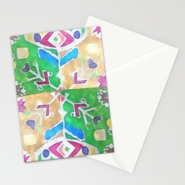 etno flower Stationery Cards