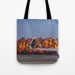 Flight and Flame Tote Bag