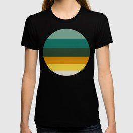 Colorful Green & Yellow Pattern T-shirt