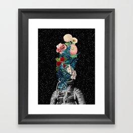 Flower Boom Framed Art Print