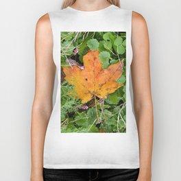 Autumn Leaf Biker Tank